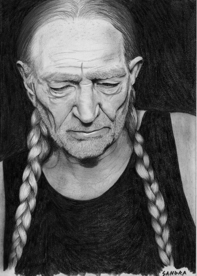 Willie Nelson by cell40